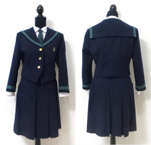 私立岐阜女子高校制服